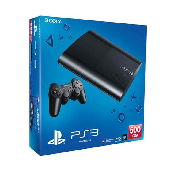 Sony PlayStation 3 500GB console