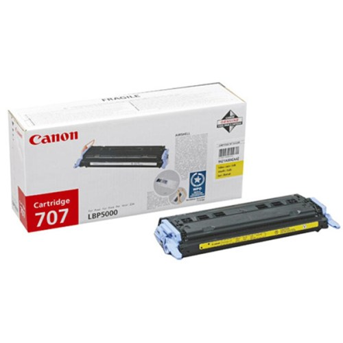 Canon 707 Yellow toner cartridge