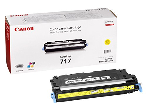 Canon 717 Yellow toner cartridge