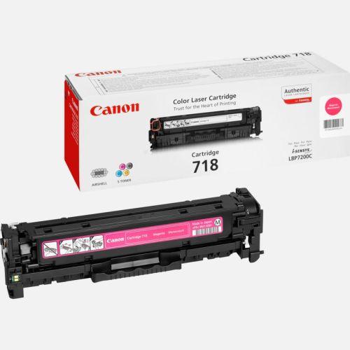 Canon 718 Magenta toner cartridge