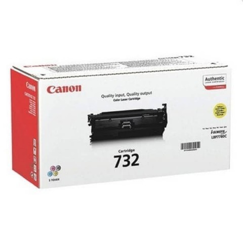 Canon 732 Yellow toner cartridge