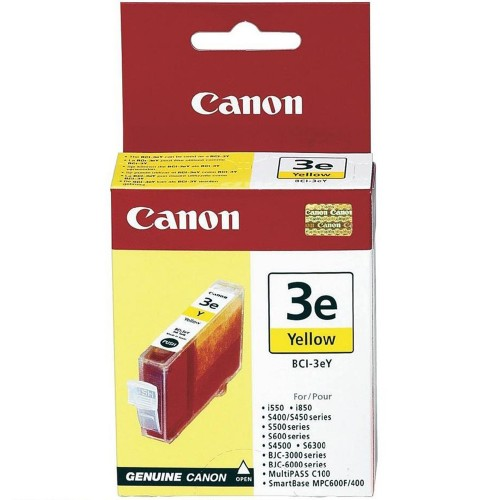 Canon BCI-3 e Yellow Ink Cartridge