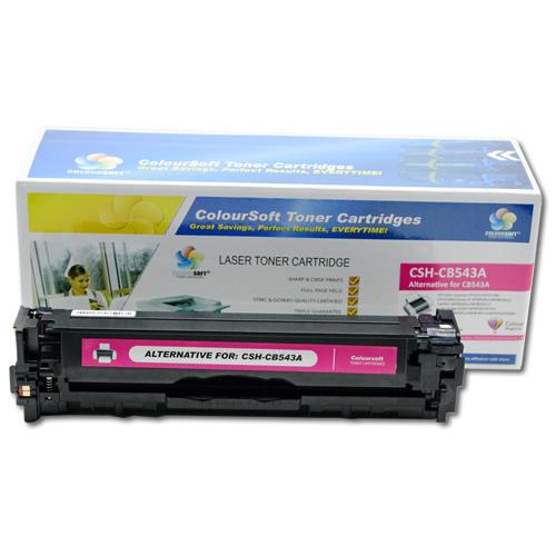 Compatible 125A Magenta Toner Cartridge CB543A