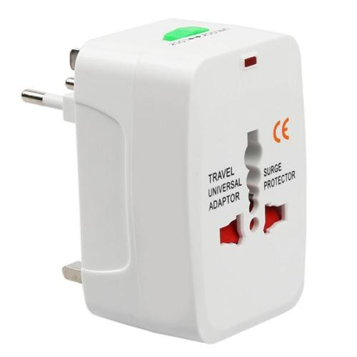Travel adaptor with surge