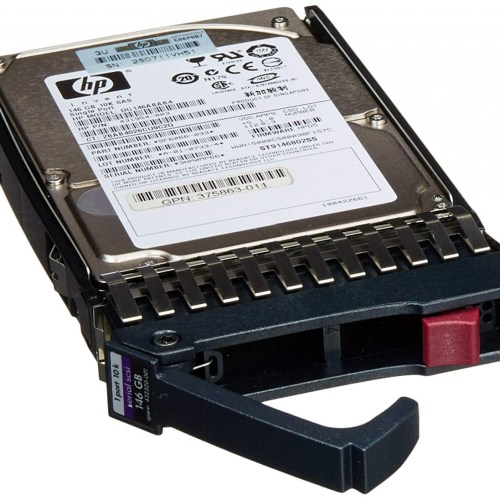 "HP 146GB 3G 10K 2.5"" SAS Single Port Server Hard Disk"