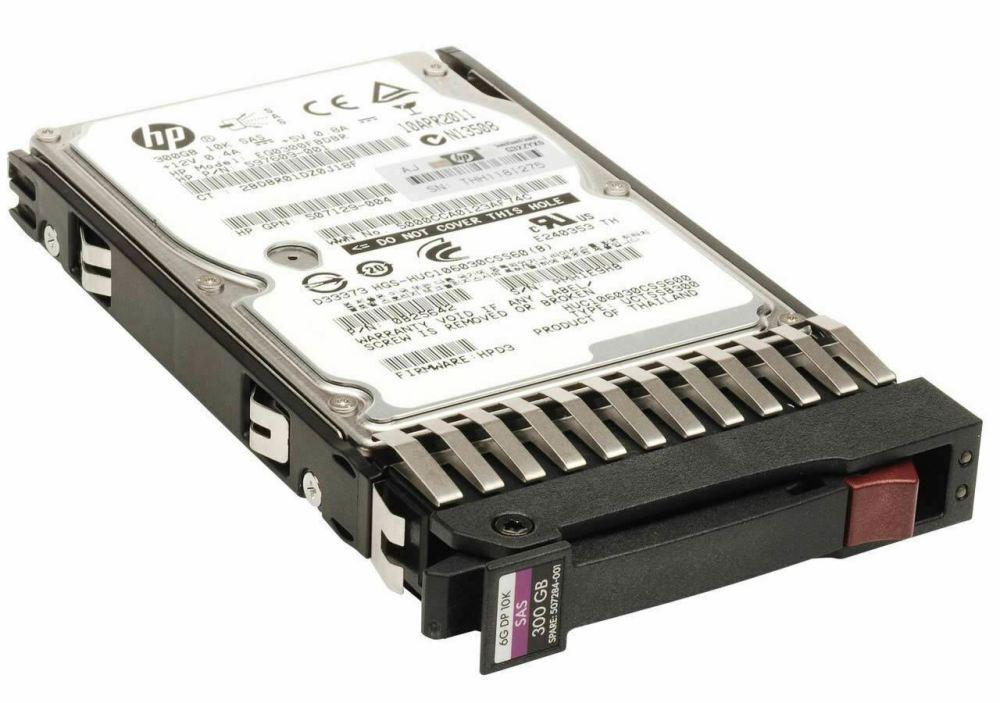HP 300GB 6G 10K 2.5 SAS Dual PortServer Hard Disk