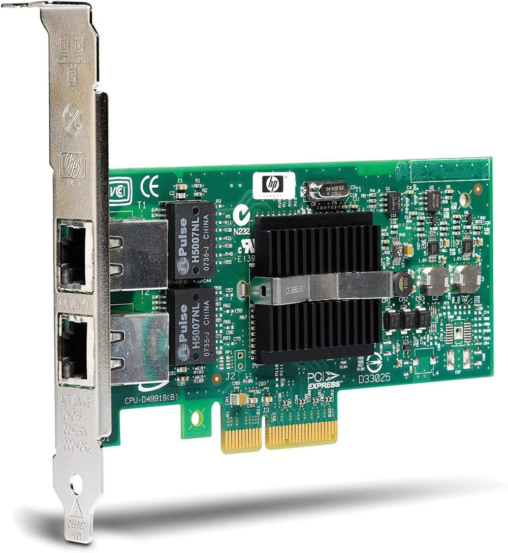 HP NC360-T PCI-E Dual Port Gigabit Server Card