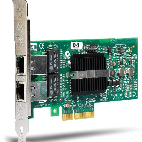 HP NC360-T PCI-E Dual Port Gigabit Server Card