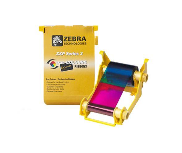 Zebra ZXP3 YMCKOK Colour ribbon