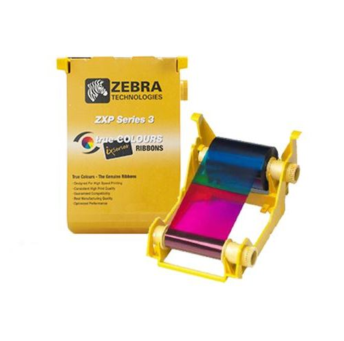 Zebra ZXP3 YMCKOK Colour ribbon