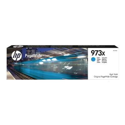 HP 973X High Yield Cyan Pagewide Cartridge