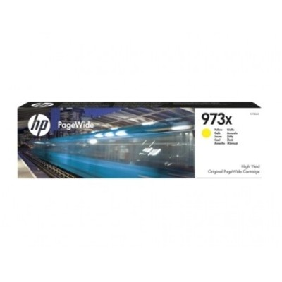 HP 973X High Yield Yellow Pagewide Cartridge