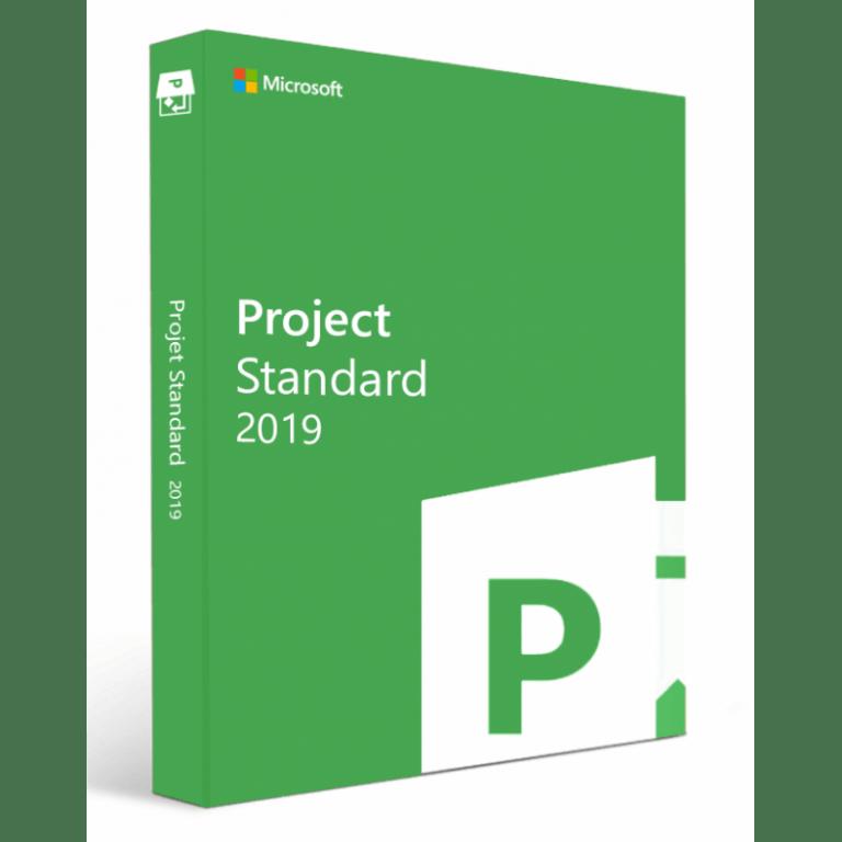 Microsoft Project Standard 2019 Win All Lng PKL Online DwnLd C2R NR