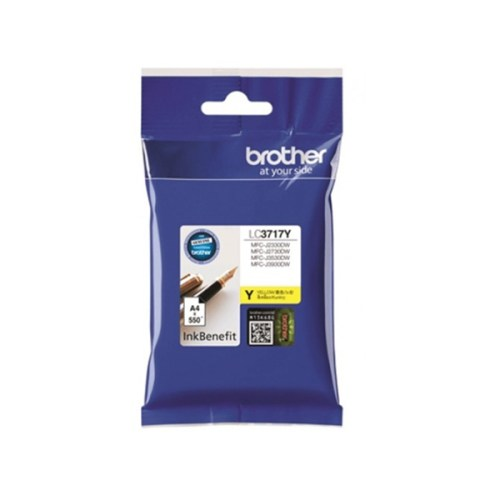 Brother LC3717Y Yellow Ink Cartridge