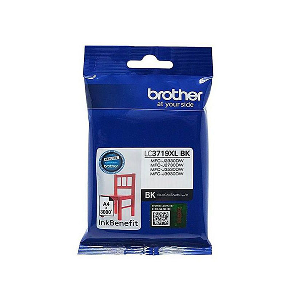 Brother LC-3719XL BK Black Ink Cartridge