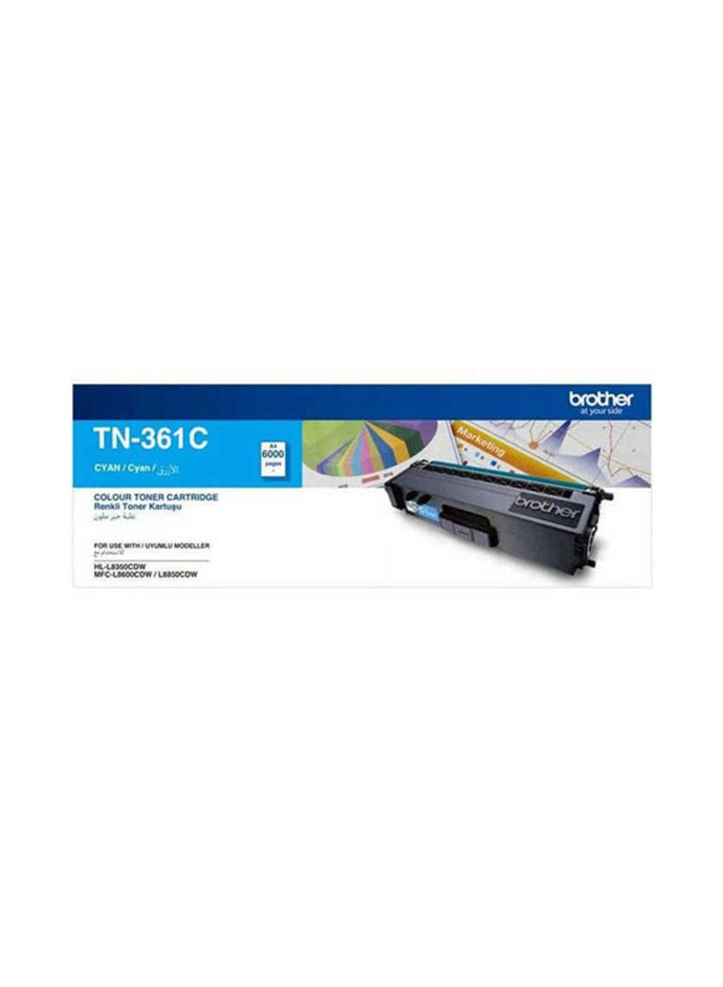Brother TN-361C Cyan Toner Cartridge