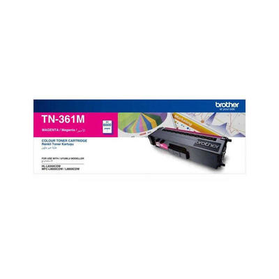 Brother TN-361M Magenta Toner Cartridge