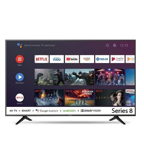 Hisense Series 8 55 Inch 4K Android Smart TV