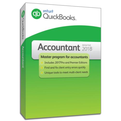 QuickBooks Accountant 2018 Additional Key Code