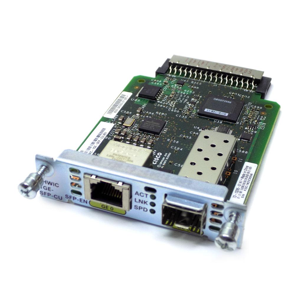 Cisco EHWIC 1GE-SFP WAN Interface Card