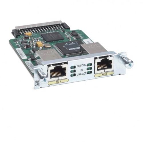 Cisco HWIC 2FE WAN Interface Card