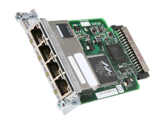 Cisco HWIC- 4ESW 4 port WAN Interface Card