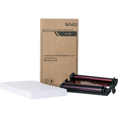 HiTi P310W 4x6 Paper Ribbon Media Kit