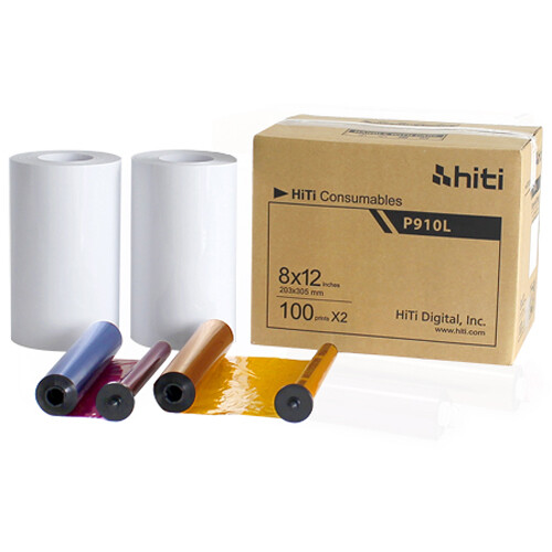 HiTi P910 8x12 Paper Ribbon Media Kit