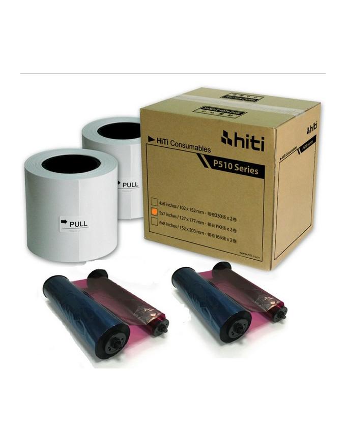 HiTi P910L 8x10 Paper Ribbon Media Kit