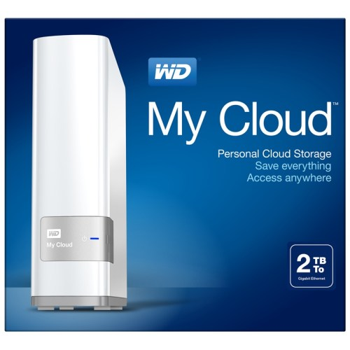 WD 2TB My Cloud External Hard Drive