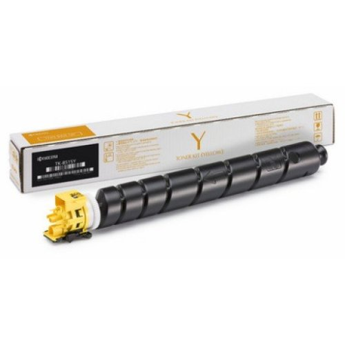 Kyocera TK-8515Y Yellow Toner Cartridge
