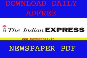 Download the Indian Express newspaper pdf