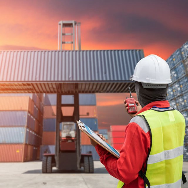 Pre-Customs clearance Inspection