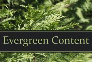 Evergreen Conent