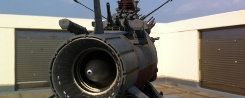 Space Battleship YAMATO (BANDAI 1/350) WIP #2 & Gallery