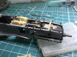 1/48 Ki-61ii (Hien) with teardrop canopy – WIP #8