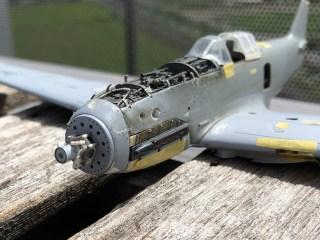 1/48 Ki-61ii (Hien) with teardrop canopy – WIP #15