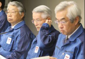 福島原発事故の会見