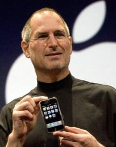iPhoneとジョブズ氏