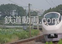 列車番号9003 「常磐線スーパーひたち657系 夕立まえ」