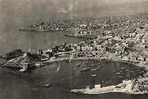Τουρκολίμανο και πίσω ο Πειραιάς
