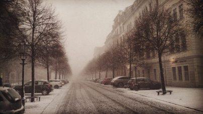 Snowy Dresden