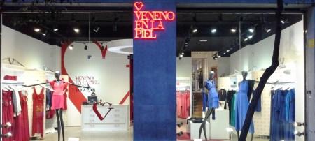 veneno en la piel escaparate barcelona septiembre 2014 teviac escaparatismo en barcelona #moda #mannequin (1)
