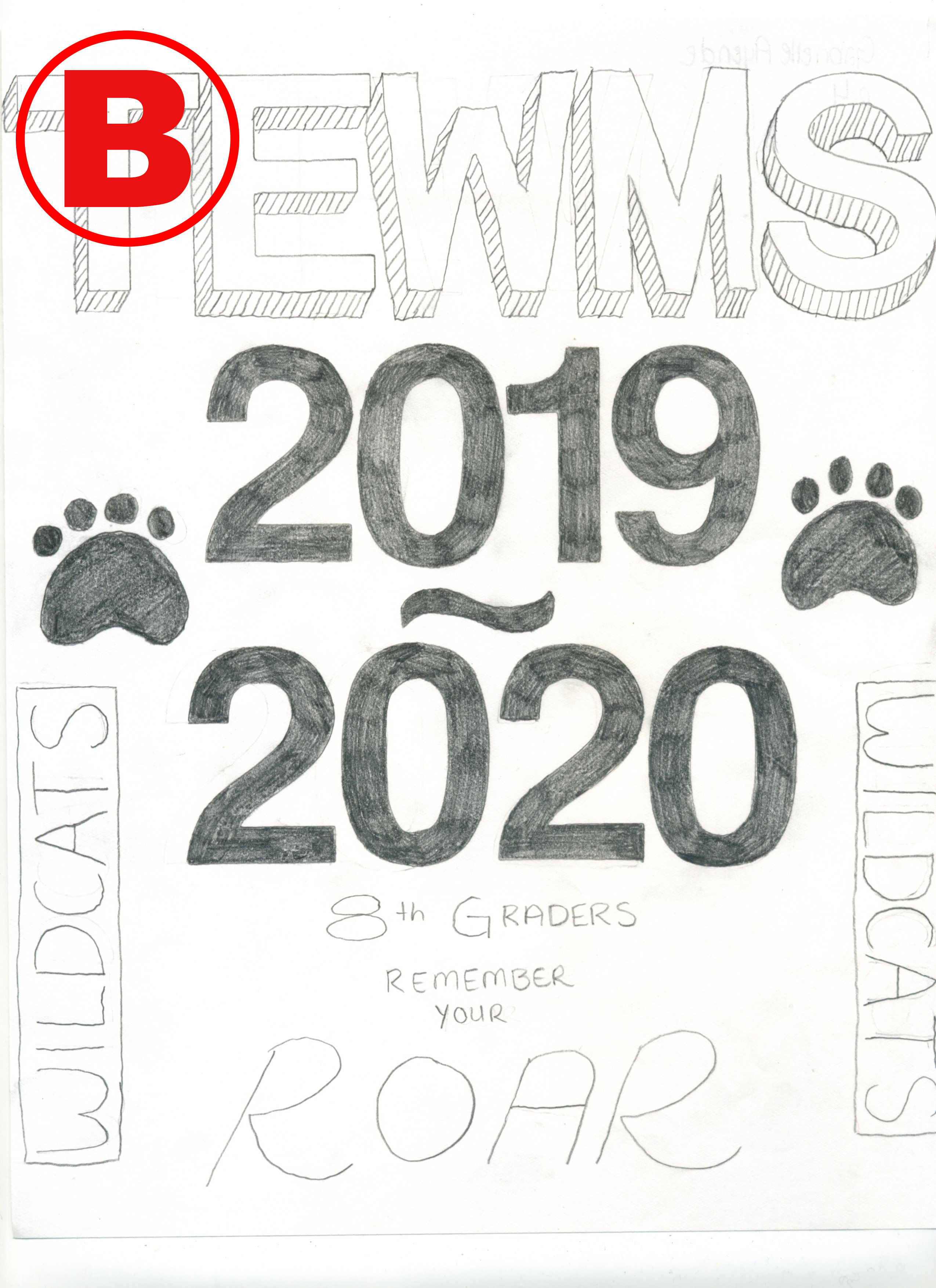 8th Grade Study Hall Binder Cover