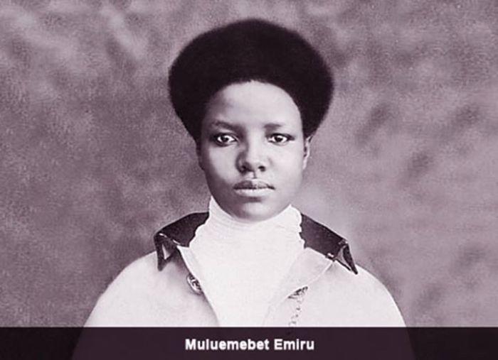 Ethiopian Airlady Weyzero Muluemebet Imru