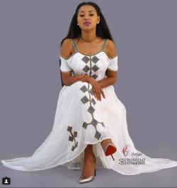 Awesome Ethiopian traditional clothes by Yegna Design