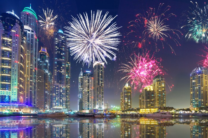 New Year 2018 fireworks in cities around the world – videos