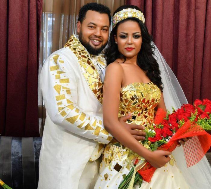 Mekdes Tsegaye Releases More Wedding Photos Tewnetcom - Ethiopian brides hairstyle