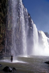 The stunningly beautiful Blue Nile Falls, Ethiopia