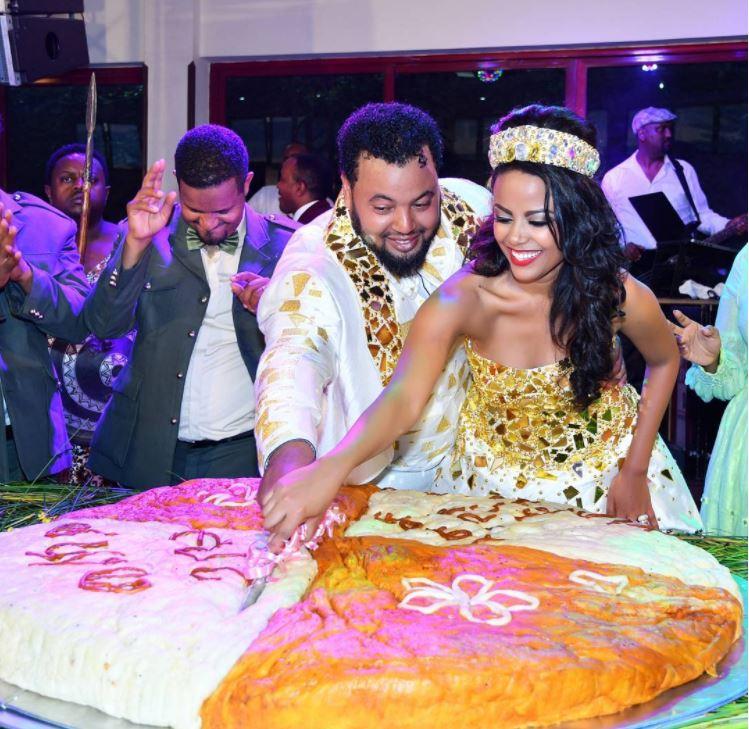 Mekdes Tsegaye releases more wedding photos
